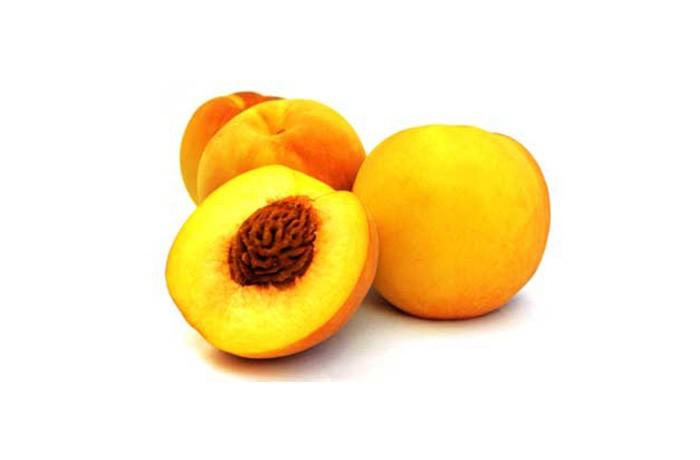 Red peaches